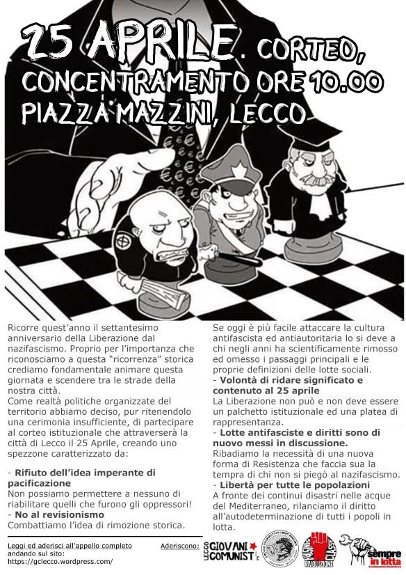 Concentramento Piazza Manzoni, ore 10.00